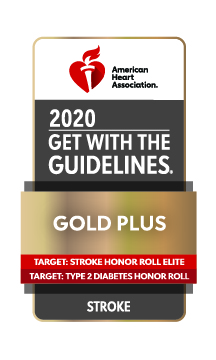 2020 Get With The Guidelines Gold Plus Quality Award for Stroke